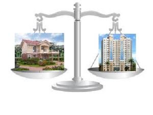 House vs. Apartment